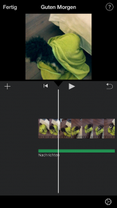 Video Ausrichtung drehen